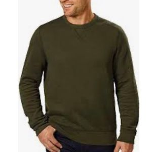 G H Bass and Co Men's XL Green Sweatshirt
